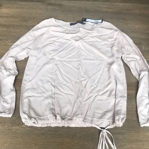 Natural colored blouse NWT